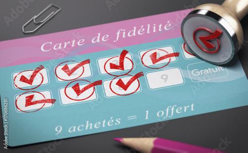 Carte de Fidélité, Fidéliser sa Clientèle Canvas Print