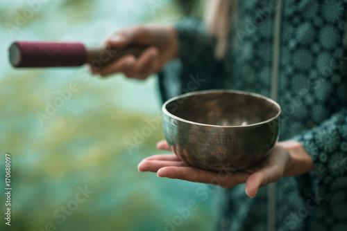 Fotografia  Tibetan bowl