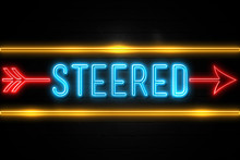 Steered  - Fluorescent Neon Si...