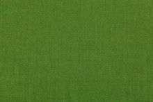 Green Background From A Textil...