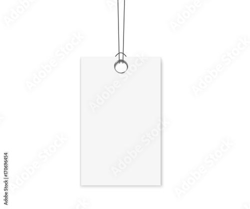 blank labels template price tags set realistic vector buy this