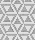 Biały i szary bezszwowy wzór z teksturą betonowa, kątowa grafika, 3d tła ilustracyjny wizerunek - 170708695
