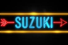 Suzuki  - Fluorescent Neon Sig...
