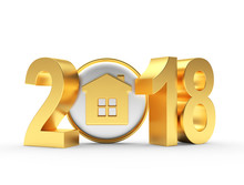 Real Estate Concept. 2018 New ...