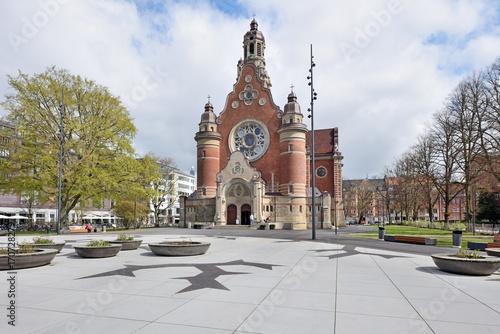 Poster Monument St. John's Church, Malmö, Sweden