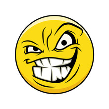 Laughing Face Expression