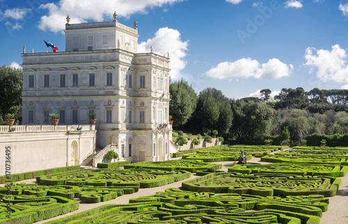 Fotografie, Obraz  Secret garden inside Villa Doria Pamhili in Rome, Italy