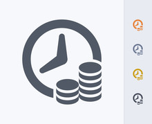 Time & Money - Carbon Icons A ...