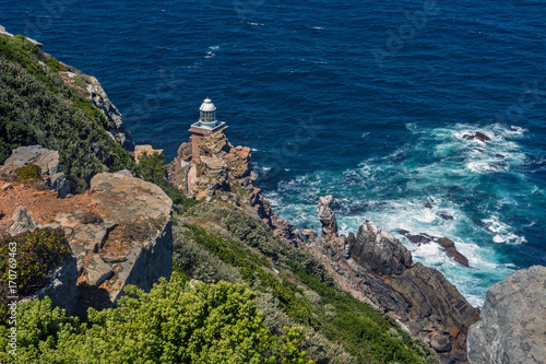 South Africa Cape of good Hope lighthouse Fototapeta