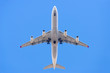 canvas print picture - Aeroplane Photographed From Below