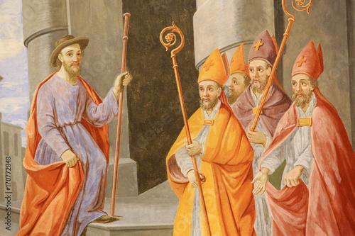 Tablou Canvas Saint-Nicolas est choisi pour être évêque de Myre