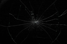 Cracked Glass Of Display