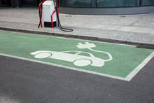 Charging Area For Electric Cars