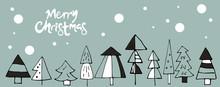 Christmas Doodle Christmas Trees