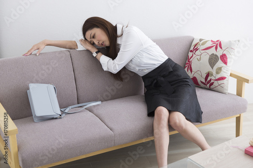 Photo 疲れた女性