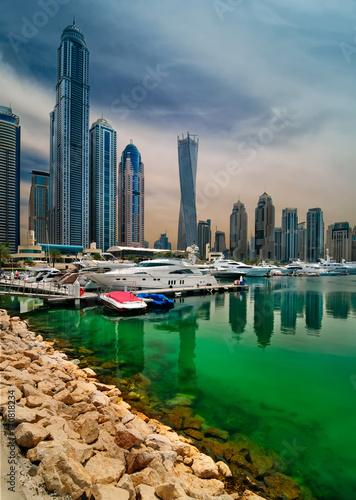 Photo  Dubai marina skyline, Dubai, United Arab Emirates