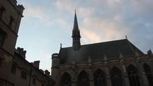 Oxford Exeter Chapel Sunset Ti...