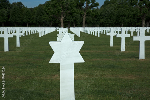 Keuken foto achterwand Begraafplaats Friedhof Soldatenfriedhof