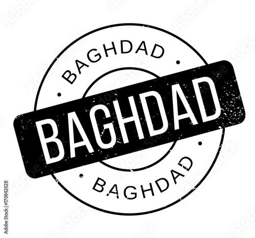 Valokuva  Baghdad rubber stamp