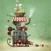 Conceptual Illustration Greeti...