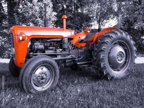 Fotografia  old tractor