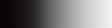 Seamless Screentone Graphics_Halftone Gradation_Black