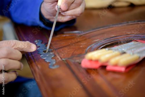 furniture restoration Fototapeta