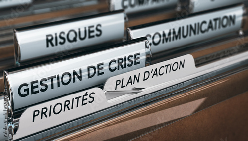 Valokuva Gestion de Crise, Continuité d'Activité