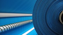 New Industrial Blue Roll, Blue...