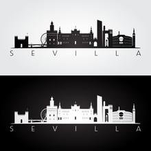 Sevilla Skyline And Landmarks ...