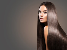 Beautiful Long Hair. Beauty Wo...