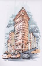 Manhattan. Flatiron Building. ...