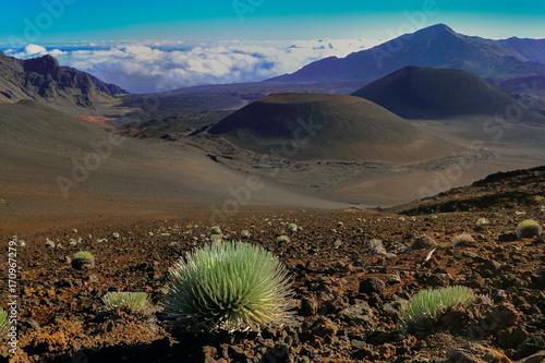 Zdjęcie XXL Hawaii Maui Haleakala krater wulkanu