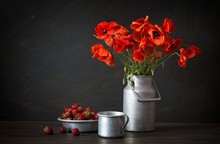 Still Life In A Rustic Style: ...