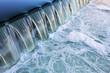 canvas print picture - fließendes Wasser Fluss