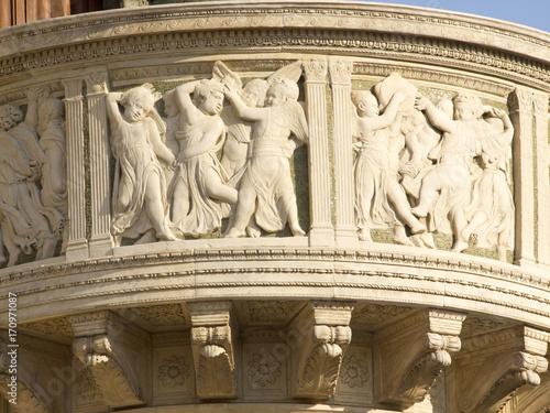 Photo  Italia,Toscana,Prato, il duomo, cattedrale di Santo Stefano
