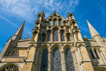 Upward View Of Ely Cathedral, ...