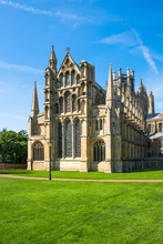 A Cathedral In Ely, Cambridgeshire, UK