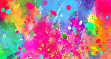 Abstract Background Of Color S...
