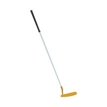 Golf Club Putter Vector Icon Illustration Sport Isolated Ball Equipment Hobby Symbol Game
