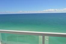 The Beach From Balcony