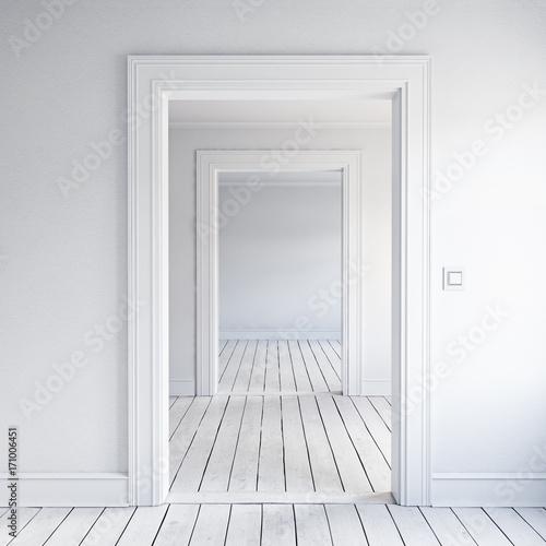 Obrazy w różnych kolorach biale-drzwi