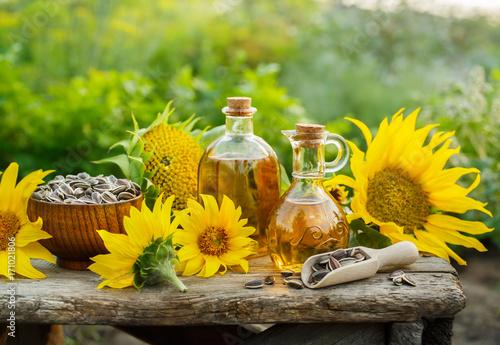 Natural Homemade sunflower oil.