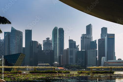 Photo  Singapore waterfront