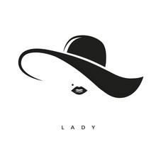 Lady Mit Hut