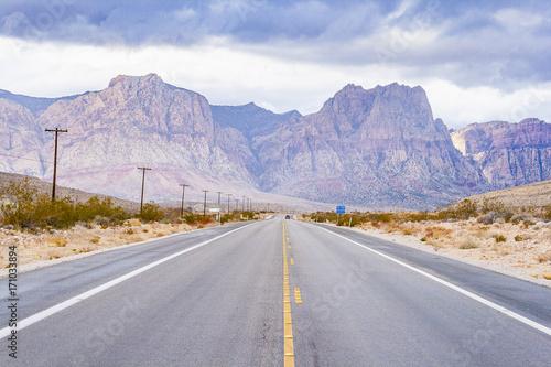 Photo  Wüste um Las Vegas