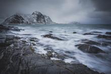 Stormy Lofoten Islands