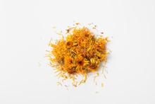 Dry Calendula Flowers Pour A H...
