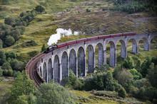 Glenfinnan Viaduct Is A Railway Viaduct In Scotland