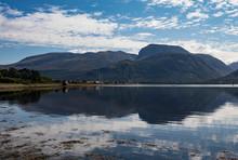 Amazing View Towards Ben Nevis...